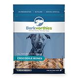 Barkworthies Crocodile Bones Natural Dog Chews 5oz.
