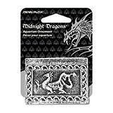 Midnight Dragons Mini Treasure Chest Aquarium Ornament