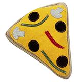 Aussie Naturals Pizza Eco-Friendly Leather Dog Toy