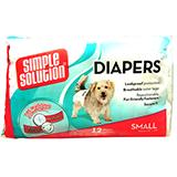 Diaper Garment Dog Diaper Disposable Small 12pack