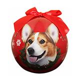 E&S Imports Shatterproof Animal Ornament Welsh Corgi