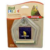 Penn Plax Swing Wood 3 inch Bird Toy