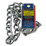Coastal Titan Chrome Steel Dog Choke Chain XHeavy 24 inch