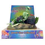 Penn Plax Action Skeleton w/Jug Aquarium Ornament