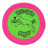 Tail Spin Flyer Disc Small Dog Toy