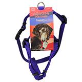 Adjustable Small Dog Harness 5/8-inch Purple Nylon