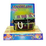Penn Plax Action Treasure Chest Aquarium Ornament Large