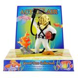 Penn Plax Action Diver w/Hose Aquarium Ornament