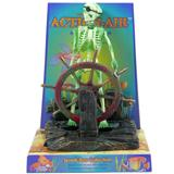 Penn Plax Action Skeleton at wheel Aquarium Ornament