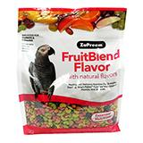 ZuPreem Fruit Blend Parrot Food 3.5 pound