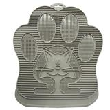 Paw Cleaning Rubber Cat Litter Mat Reduces Tracking