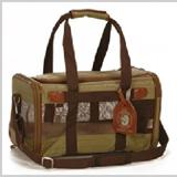 Original Deluxe Sherpa Bag Large Green Pet Carrier