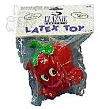 Latex Strawberry Dog Toy