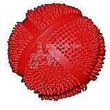 Latex Shaggie Ball 3 Inch Dog Toy
