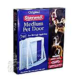 Staywell Dog Door Medium 740 White