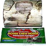 Mouse Chew House Woodchew Playnest Log