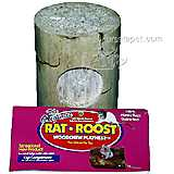 Rat Roost Woodchew Playnest Log Toy
