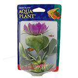 White Hyacinth Bottom Plastic Aquarium Plant