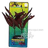 Red Hydro Polysperma Medium Plastic Aquarium Plant
