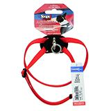 Nylon Dog Harness Size Right XSmall Red