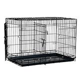 Wire Fold-Down Dog Crate 30 x 19.5 x 21.5