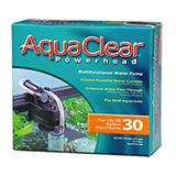 AquaClear Power Head Submersible Aquarium Pump Model 30