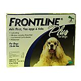 Frontline PLUS Dog 23-44 lb 3 pack Flea and Tick Treatment