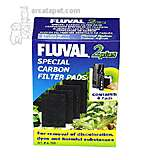 Fluval Internal Aquarium Filter 2+ Carbon 4 Pack