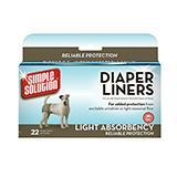 Dog Diaper Garment Pads 22 count