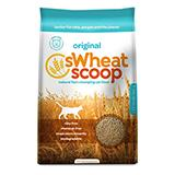 SWheat Scoop Natural Wheat Cat Litter 25 Lb.