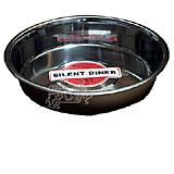 Steel Dog Bowl Puppy Pan 10 Inch