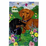 GR8 Dogs Dachshund  House Flag