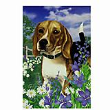 GR8 Dogs Beagle House Flag