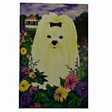 GR8 Dogs Maltese House Flag