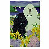 GR8 Dogs Poodle Garden Flag