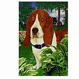 GR8 Dogs Basset Hound Garden Flag