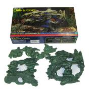 Penn Plax Cliffs and Caves Master Aquarium Ornament