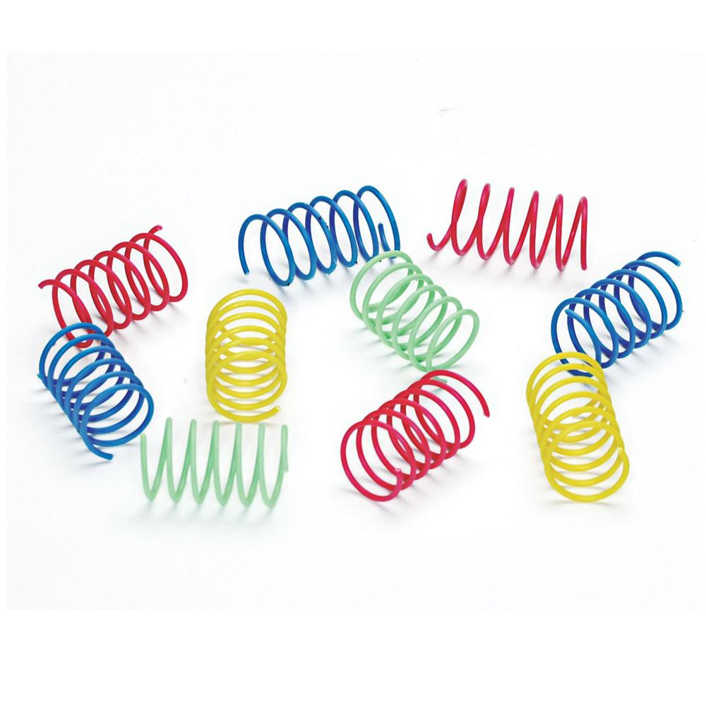 Spotnips Colorful Springs 10 Pack Cat Toy