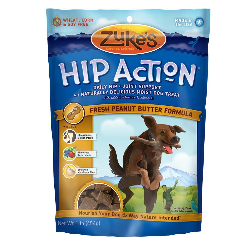Zuke's Hip Action PB 16 ounce Dog Treat
