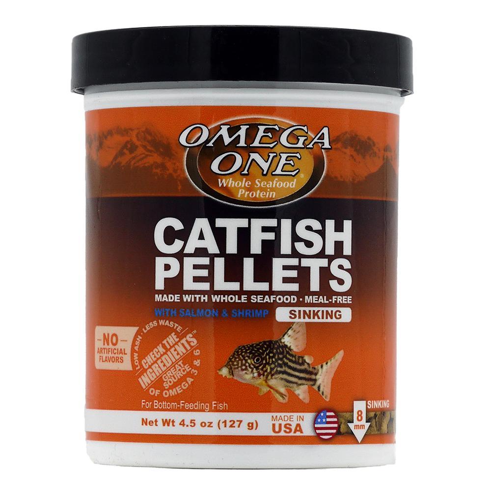 Omega one sinking shrimp pellets fish food 4 5 oz aquar for Omega one fish food