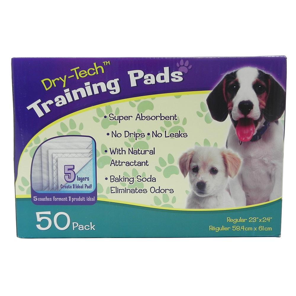 Dry-Tech Dog Housebreaking Pads 50 Pack