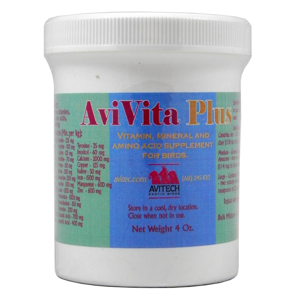 Avitech AviVita Plus 4 ounce Bird Supplement