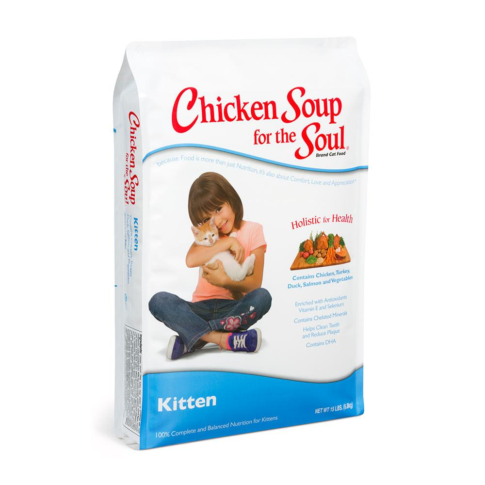 Chicken Soup for the Kitten Lovers Soul 15 lb