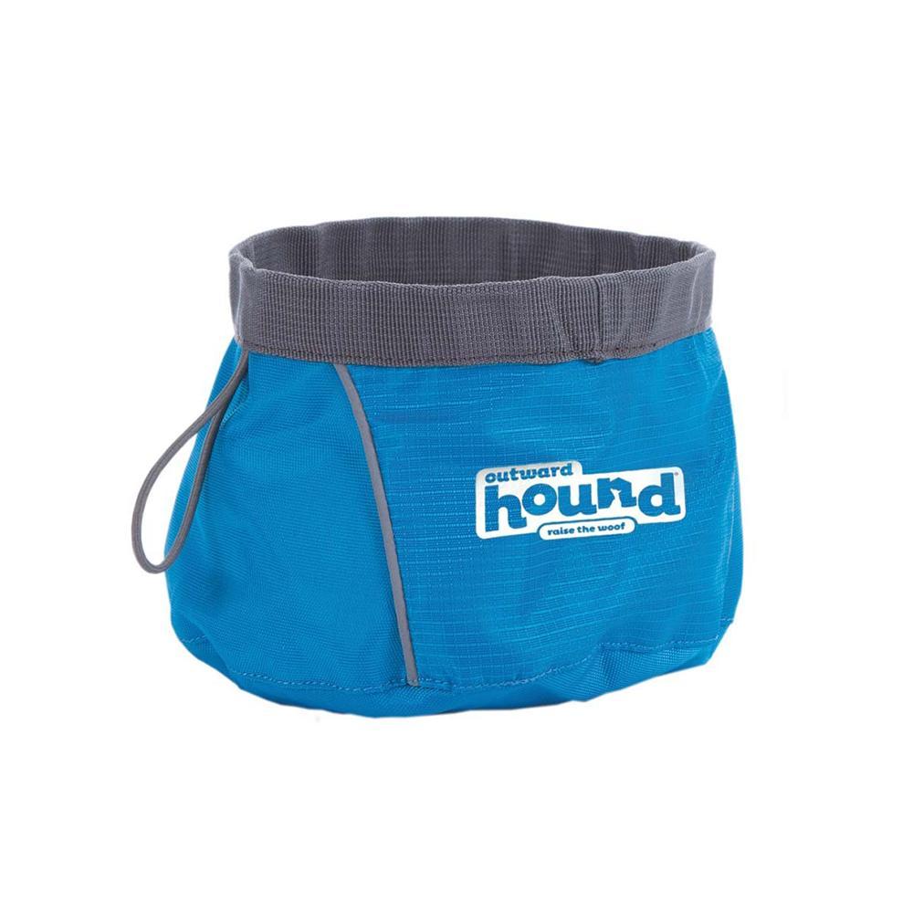 Outward Hound Blue Port-A-Bowl 48 oz for Dog Water