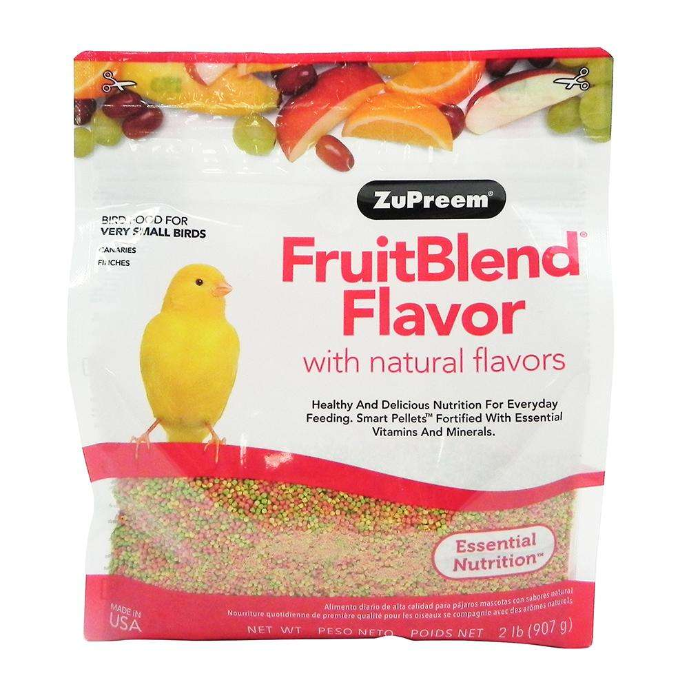 ZuPreem Fruit Blend Canary Food 2.25lb