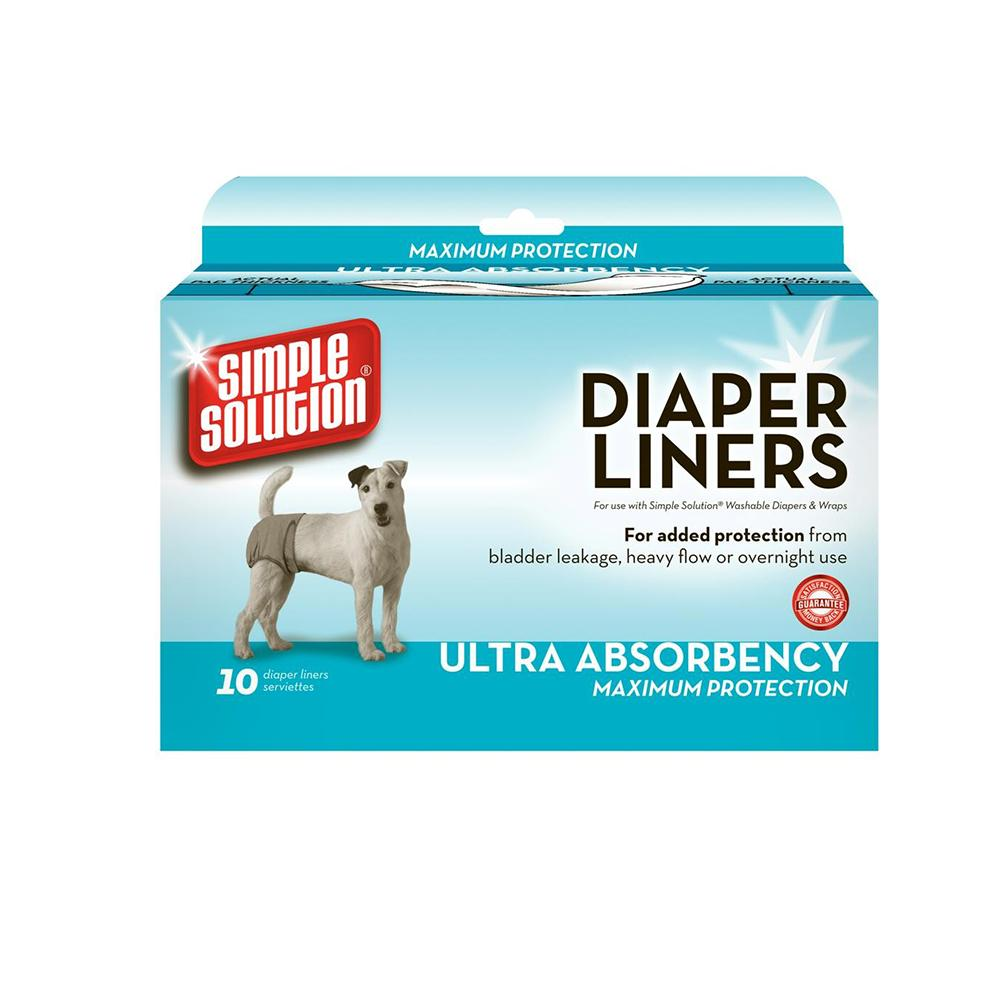 Dog Diaper Garment Pads Large 10 count