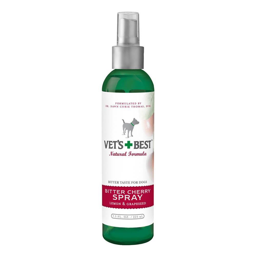 Vets Best Bitter Cherry Spray  7.5 oz Pet Taste Deterrent