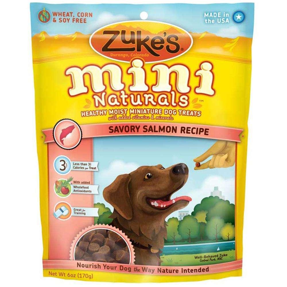 Zuke's Mini Naturals Salmon 6 oz Dog Treat