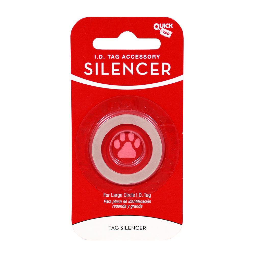Circle ID Tag Silencer Large