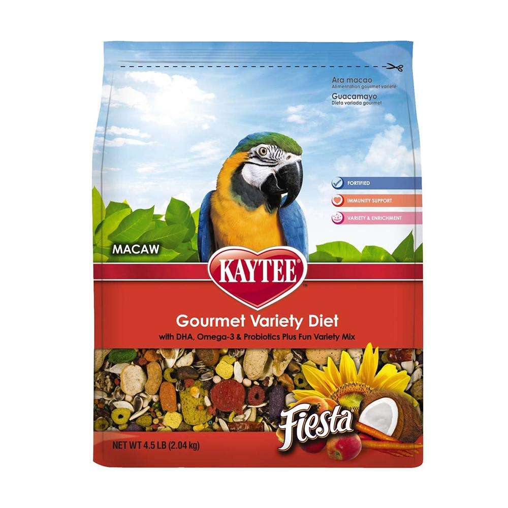 Kaytee Fiesta Max Macaw Bird Food 4.5 pound